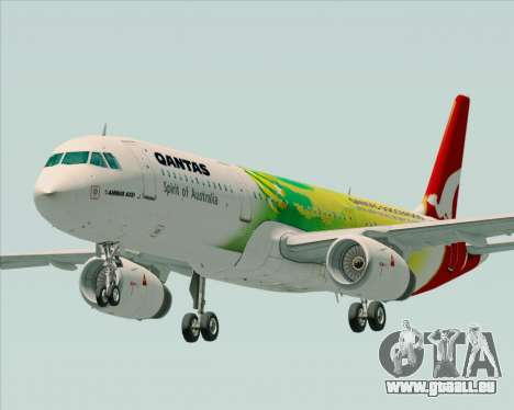 Airbus A321-200 Qantas (Socceroos Livery) für GTA San Andreas