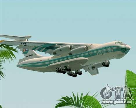 IL-76TD ALROSA für GTA San Andreas rechten Ansicht