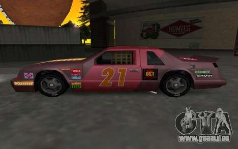De nouveaux autocollants et non Hotring pour GTA San Andreas laissé vue