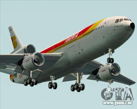McDonnell Douglas DC-10-30 Iberia für GTA San Andreas linke Ansicht