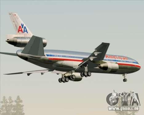 McDonnell Douglas DC-10-30 American Airlines pour GTA San Andreas vue de droite