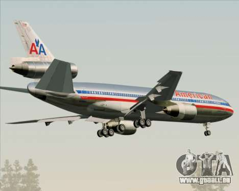 McDonnell Douglas DC-10-30 American Airlines für GTA San Andreas rechten Ansicht
