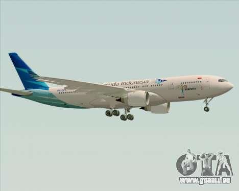 Airbus A330-243 Garuda Indonesia für GTA San Andreas rechten Ansicht