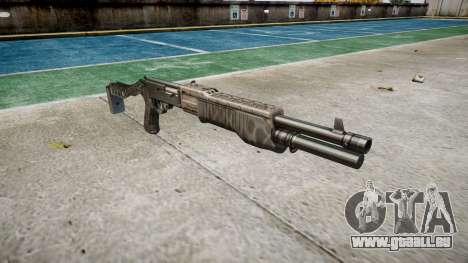 Ружье Franchi SPAS-12 Kryptek Typhon pour GTA 4
