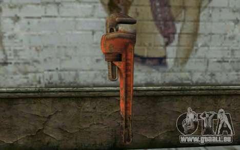 Schraubenschlüssel (DayZ Standalone) für GTA San Andreas