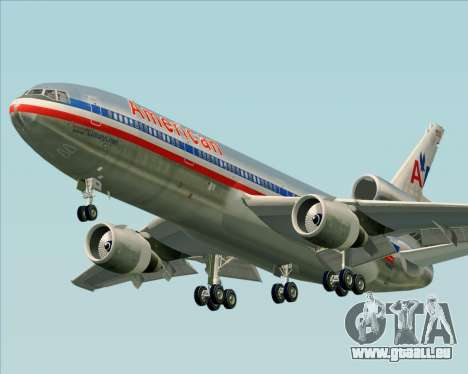 McDonnell Douglas DC-10-30 American Airlines für GTA San Andreas linke Ansicht