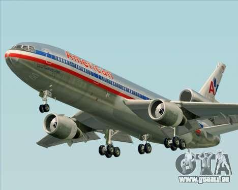 McDonnell Douglas DC-10-30 American Airlines für GTA San Andreas linke Ansicht