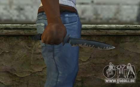 Knife from CS:S Bump Mapping v1 für GTA San Andreas dritten Screenshot
