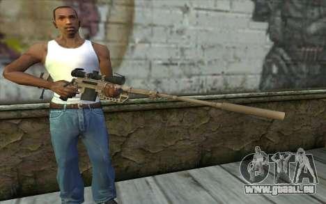 Sniper Rifle Cheytac M200 Intervention für GTA San Andreas dritten Screenshot