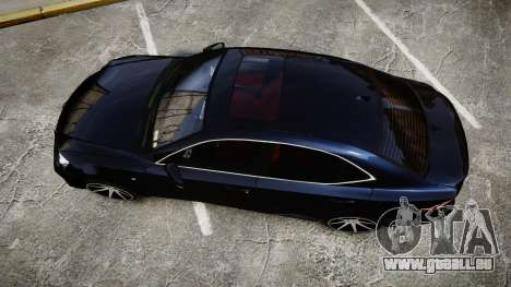 Lexus IS 350 F-Sport 2014 Rims2 für GTA 4 rechte Ansicht