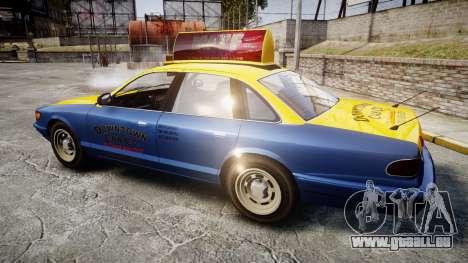 Vapid Stanier Taxi DCC für GTA 4 linke Ansicht