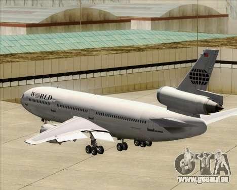 McDonnell Douglas DC-10-30 World Airways pour GTA San Andreas