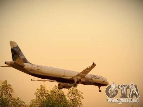 Airbus A321-232 jetBlue La vie en Blue für GTA San Andreas Räder