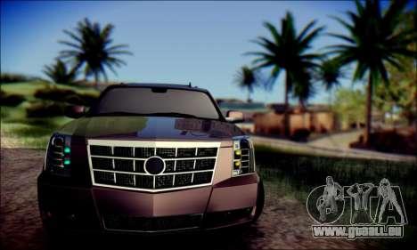 Cadillac Escalade Ninja für GTA San Andreas linke Ansicht