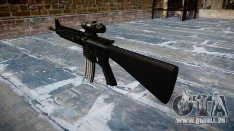 Gewehr M16A4 ACOG Ziel für GTA 4 Sekunden Bildschirm