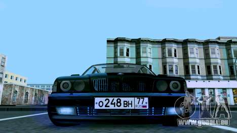 BMW 750iL für GTA San Andreas Innenansicht