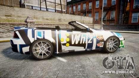 Benefactor Feltzer Grey Series v2 für GTA 4 linke Ansicht