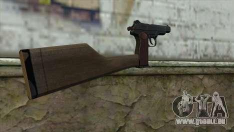 Stechkin Pistolet Automatique pour GTA San Andreas deuxième écran