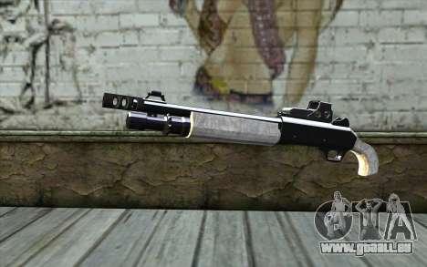 Silver Shotgun für GTA San Andreas