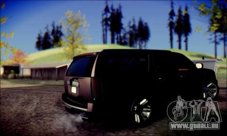 Cadillac Escalade Ninja für GTA San Andreas rechten Ansicht