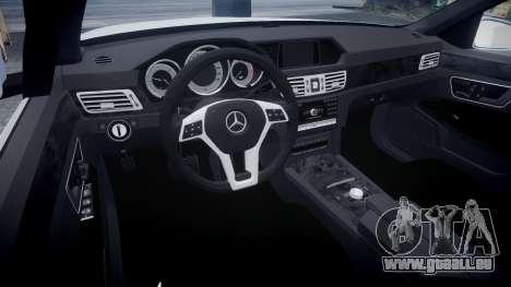 Mercedes-Benz E63 W213 AMG 2014 Vossen pour GTA 4 Vue arrière