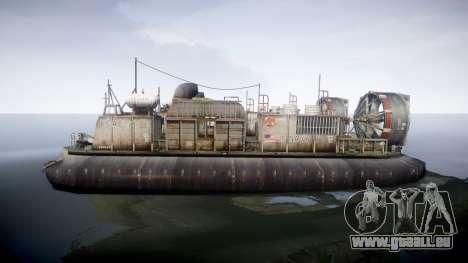 LCAC US Navy für GTA 4 linke Ansicht