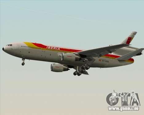 McDonnell Douglas DC-10-30 Iberia pour GTA San Andreas vue de côté