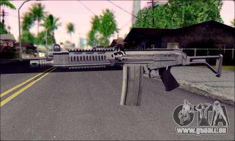 FN FAL from ArmA 2 für GTA San Andreas zweiten Screenshot