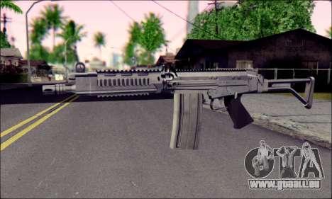 FN FAL from ArmA 2 pour GTA San Andreas deuxième écran