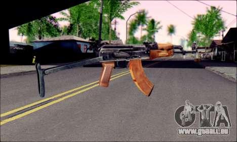 ACMs de ArmA 2 pour GTA San Andreas deuxième écran