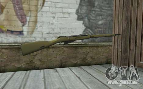 Die Gewehre Mosin-v3 für GTA San Andreas zweiten Screenshot