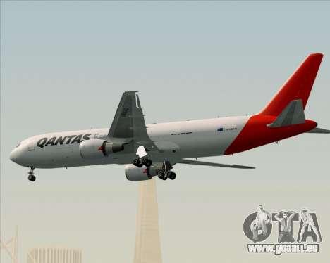 Boeing 767-300F Qantas Freight pour GTA San Andreas vue de dessus