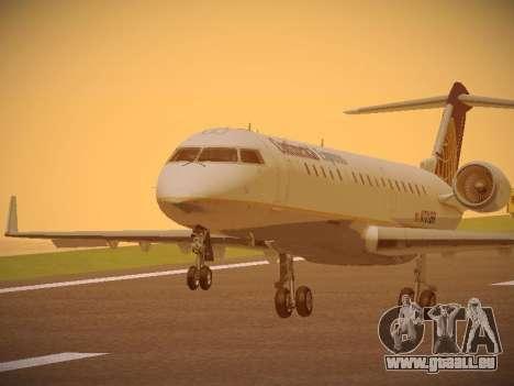 Bombardier CRJ-700 Continental Express für GTA San Andreas
