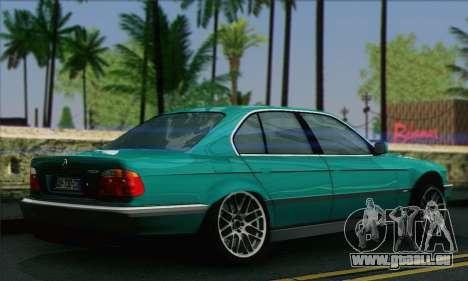 BMW 7-series für GTA San Andreas linke Ansicht