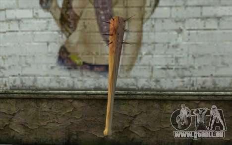 Nail Bat from Beta Version pour GTA San Andreas