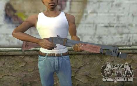 Shotgun from Primal Carnage v2 pour GTA San Andreas troisième écran