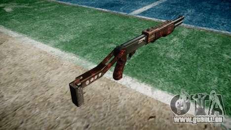 Ружье Franchi SPAS-12 l'Art de la Guerre pour GTA 4 secondes d'écran