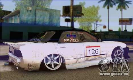 Nissan Skyline HCR32 pour GTA San Andreas laissé vue