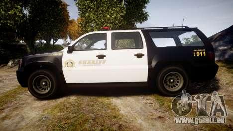GTA V Declasse Granger LSS Black [ELS] für GTA 4 linke Ansicht