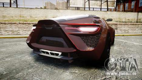 Bertone Mantide 2009 pour GTA 4 Vue arrière de la gauche