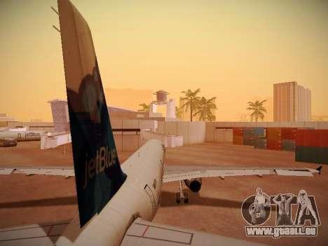 Airbus A321-232 jetBlue La vie en Blue pour GTA San Andreas