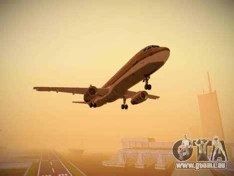 Airbus A321-232 Royal Jordanian Airlines für GTA San Andreas Innenansicht
