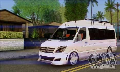Mercedes-Benz Sprinter Servis für GTA San Andreas
