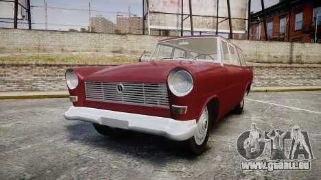 FSO Warszawa Ghia Kombi 1959 pour GTA 4