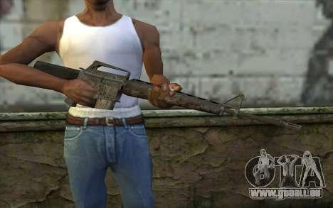 M16A1 from Battlefield: Vietnam für GTA San Andreas dritten Screenshot