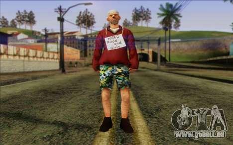Squad Mitglied AI Haut 1 für GTA San Andreas