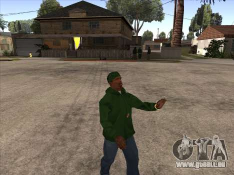 Cleo Walk Style pour GTA San Andreas