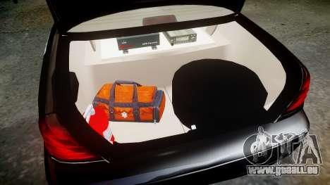 Ford Crown Victoria CHP CVPI Liberty [ELS] pour GTA 4 est une vue de l'intérieur