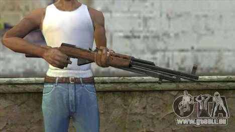 СКС de l'Insurrection pour GTA San Andreas troisième écran
