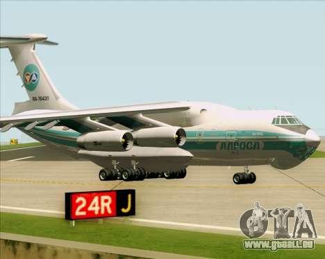 IL-76TD ALROSA für GTA San Andreas linke Ansicht